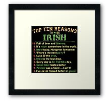 Irish Framed Print