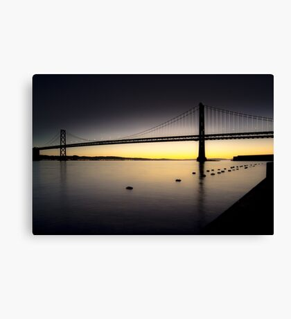 Bay Bridge Sunrise, SF Canvas Print