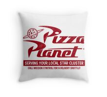 Pizza Planet Throw Pillow