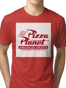 Pizza Planet Tri-blend T-Shirt