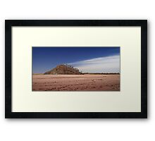 Lake Ballard Framed Print