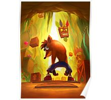 Crash Bandicoot Poster Poster
