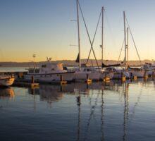 Sunrise, Fisherman's Wharf, San Francisco  Sticker