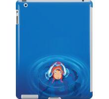 Ponyo swim iPad Case/Skin