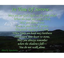In Time Of Sorrow Photographic Print