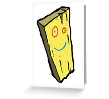 Ed, Edd N Eddy Plank Design  Greeting Card