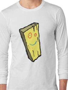Ed, Edd N Eddy Plank Design  Long Sleeve T-Shirt