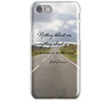 On the Road, quote iPhone Case/Skin