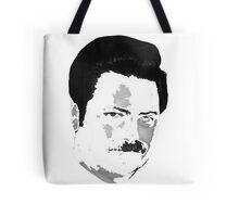 Ron Swanson - White Tote Bag