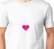 Love Quote Plato Pink  Unisex T-Shirt