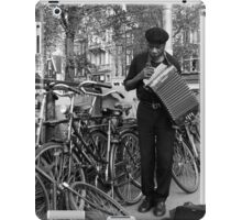 Music for the bicycles iPad Case/Skin