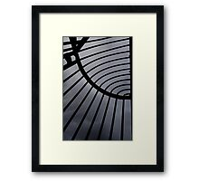 Wentworth Prison Windows Grill. Framed Print