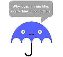 Umbrella problems Photographic Print
