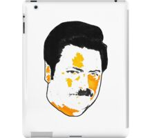 Ron Swanson - Orange  iPad Case/Skin