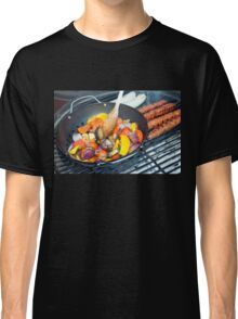 Barbecue Vegetables and Kebabs on Hot Coals Classic T-Shirt