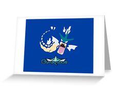 Gyarados 2.0 Greeting Card