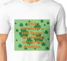 Irish Alzheimers Unisex T-Shirt