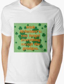 Irish Alzheimers Mens V-Neck T-Shirt