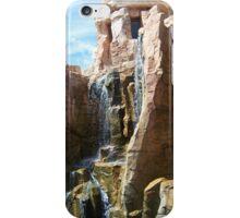 Precipice & Waterfalls iPhone Case/Skin