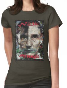 William Seward Burroughs Womens Fitted T-Shirt
