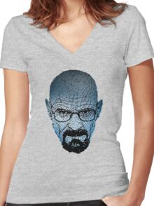 Heisenberg - Breaking bad Women's Fitted V-Neck T-Shirt