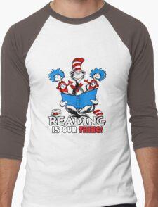 Read across America day 2016 Men's Baseball ¾ T-Shirt