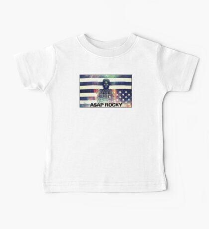 A$AP ROCKY MULTICOLOR Baby Tee