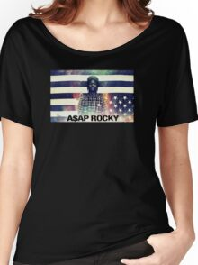 A$AP ROCKY MULTICOLOR Women's Relaxed Fit T-Shirt