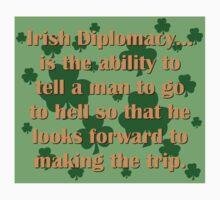 Irish Diplomacy Baby Tee