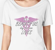Grey's Anatomy --- It's a Beautiful Day to Save Lives Women's Relaxed Fit T-Shirt