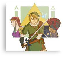 Legend of Zelda Metal Print