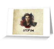 Stefan - The Vampire Diaries Greeting Card