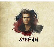 Stefan - The Vampire Diaries Photographic Print