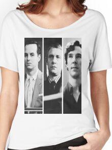 Sherlock - Jim Moriarty, John Watson, Sherlock Holmes Women's Relaxed Fit T-Shirt