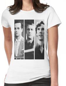 Sherlock - Jim Moriarty, John Watson, Sherlock Holmes Womens Fitted T-Shirt