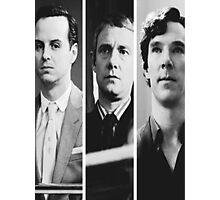Sherlock - Jim Moriarty, John Watson, Sherlock Holmes Photographic Print