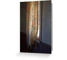 Its Curtain time. Greeting Card