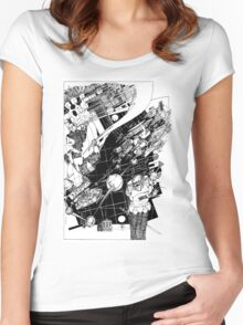 Graphics 015 Women's Fitted Scoop T-Shirt