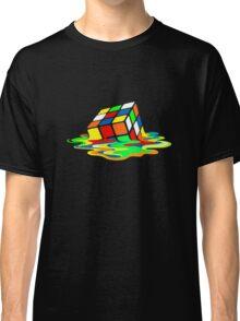 Big Bang Theory Sheldon Cooper Melting Rubik's Cube cool geek Classic T-Shirt