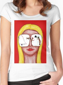 COOL CHRISTMAS Women's Fitted Scoop T-Shirt