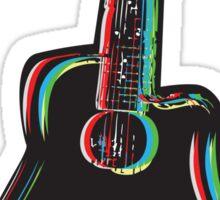 Guitar Sticker Sticker