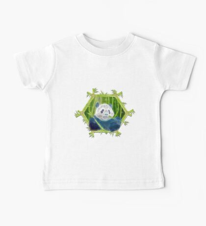 abstract panda Baby Tee