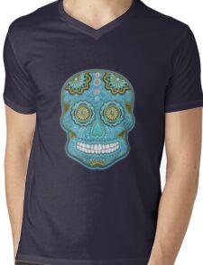 dia de los muertes 2 Mens V-Neck T-Shirt
