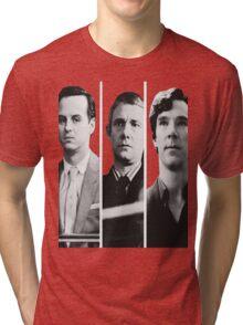 Sherlock - Jim Moriarty, John Watson, Sherlock Holmes Tri-blend T-Shirt