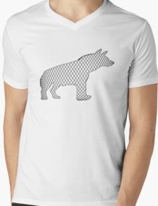 Hyena Mens V-Neck T-Shirt