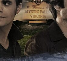 Salvatore Brothers - The Vampire Diaries Sticker