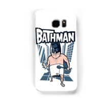 The Bathman (Incredible super hero with washing superpowers) Samsung Galaxy Case/Skin