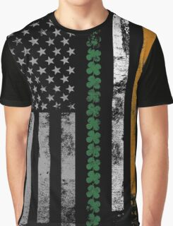 Irish Shamrocks St. Patricks Day Graphic T-Shirt