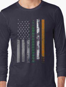 Irish Shamrocks St. Patricks Day Long Sleeve T-Shirt