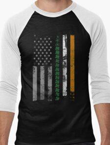 Irish Shamrocks St. Patricks Day Men's Baseball ¾ T-Shirt